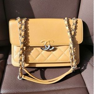 Chanel Flap Bag with CC lock